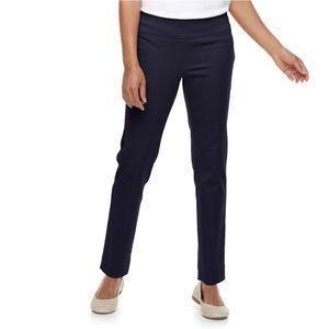 Petite Croft & Barrow Effortless Stretch Pull-on Pants, Women's, Size: 14P-Short